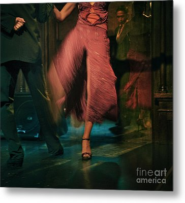 Metal Print featuring the photograph Tango - The Dance by Michel Verhoef