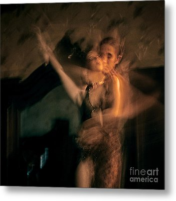 Tango - The Motion Metal Print