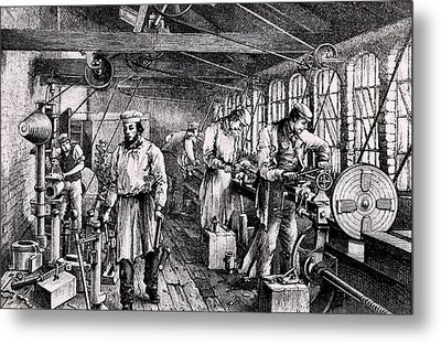 Tangy Brothers Engineering Works Metal Print by Universal History Archive/uig