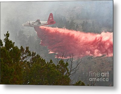 Tanker 07 On Whoopup Fire Metal Print by Bill Gabbert
