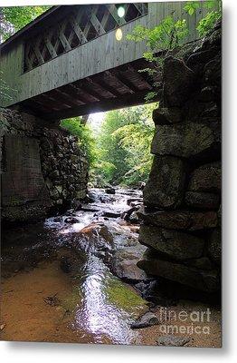 Tannery Hill Bridge Metal Print