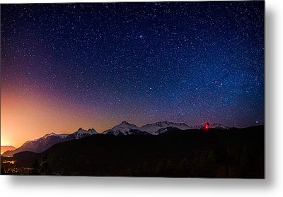 Tantalus Lookout Metal Print by Alexis Birkill