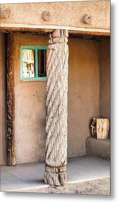 Taos Pueblo Study 3 Metal Print