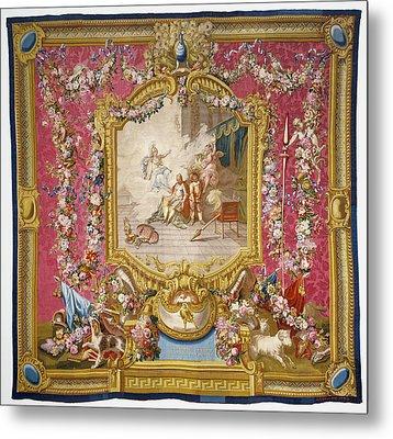 Tapestry Don Quichotte Guéri De Sa Folie Par La Sagesse Metal Print by Litz Collection