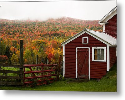 Tapestry Of Fall Colors Metal Print by Jeff Folger