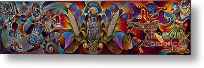 Tapestry Of Gods Metal Print by Ricardo Chavez-Mendez