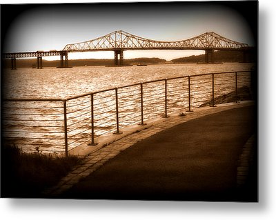 Tappan Zee Bridge Ix Metal Print