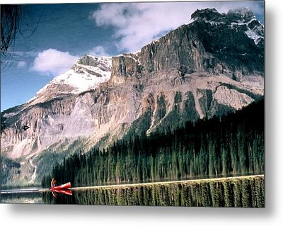 Tranquility...emerald Lake Canada Metal Print
