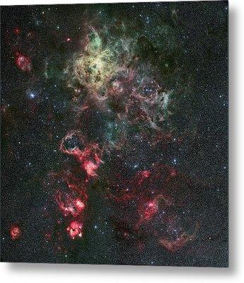 Tarantula Nebula Metal Print by Eso/r. Fosbury (st-ecf)