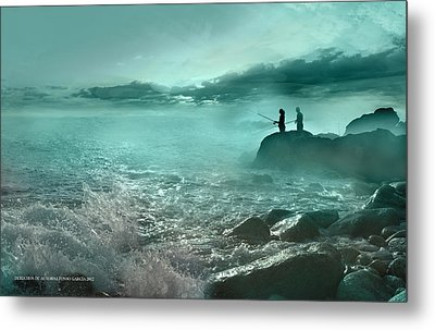 Metal Print featuring the photograph Tarde De Pesca by Alfonso Garcia