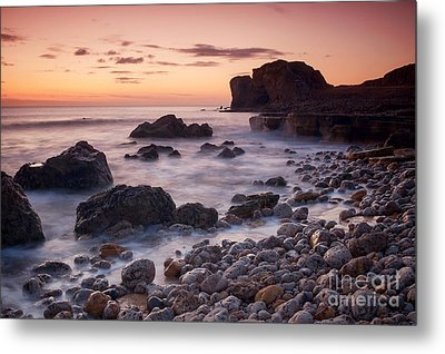 Target Rock Sunrise Metal Print by Ray Pritchard