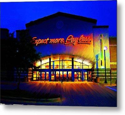 Target Super Store C Metal Print by P Dwain Morris