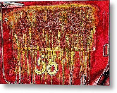 Tarkington Vol Fire Dept 56 Metal Print