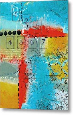 Tarot Art Abstract Metal Print by Corporate Art Task Force