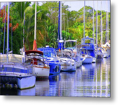 Metal Print featuring the photograph Tarpon River by Artists With Autism Inc