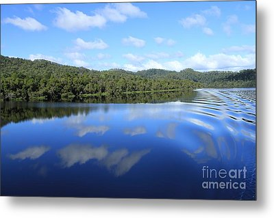 Tasmanian Reflexions All Profits Go To Hospice Of The Calumet Area Metal Print