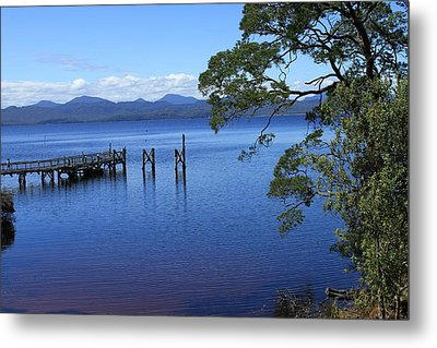 Tasmanian Stillness All Profits Go To Hospice Of The Calumet Area Metal Print