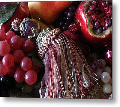 Tassel With Fruit Metal Print