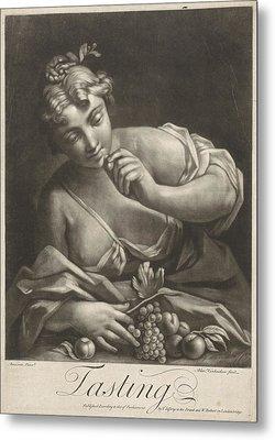 Taste, Alexander Van Haecken, T. Jefferys Metal Print