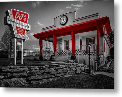 Taste Of The Fifties Metal Print by Susan Candelario