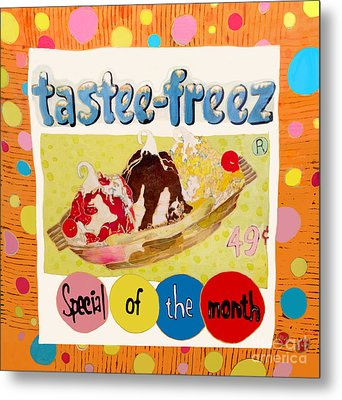 Tastee Freez Metal Print