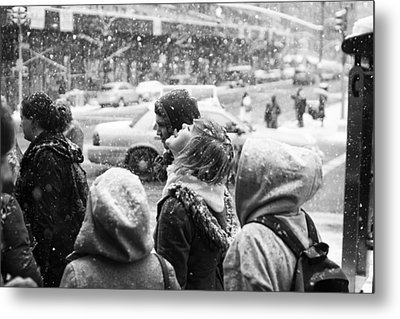 Tasteofsnow Metal Print by Dave Beckerman