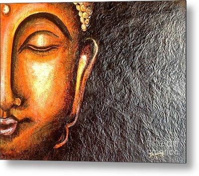 Tathagatha - Serene Buddha  Metal Print
