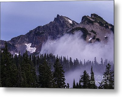 Tatoosh Range Metal Print by Sharon Seaward
