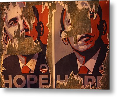 Tattered Hope Metal Print