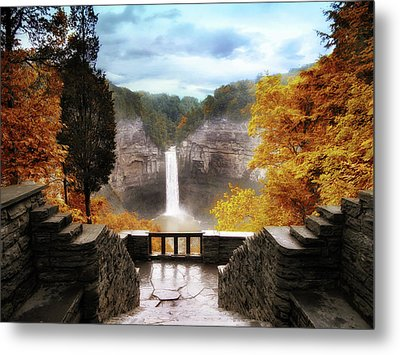Taughannock Falls 2 Metal Print by Jessica Jenney