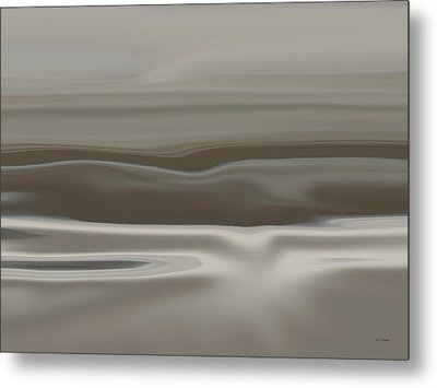 Taupe Dunes Metal Print by Tim Stringer
