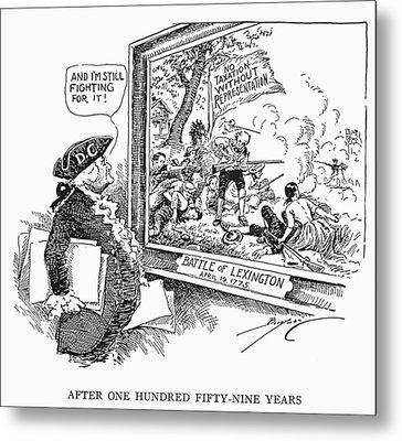 Taxation Cartoon, 1934 Metal Print by Granger