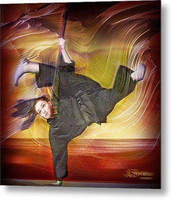 Taylor Lynch Action Portrait Metal Print by Salakot