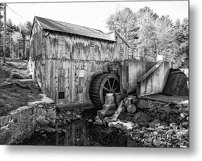 Taylor Sawmill - Derry New Hampshire Usa Metal Print by Erin Paul Donovan