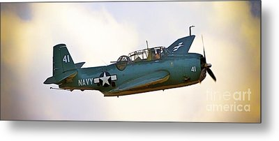 Tbf Avenger  Adventure Metal Print