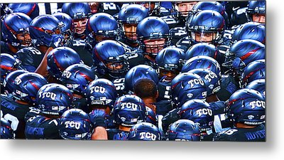 Tcu Horned Frogs Metal Print