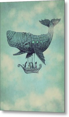 Tea At Two Thousand Feet Metal Print by Eric Fan