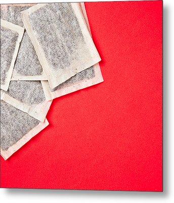 Tea Bags Metal Print by Tom Gowanlock