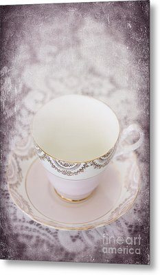 Tea Cup Metal Print by Svetlana Sewell