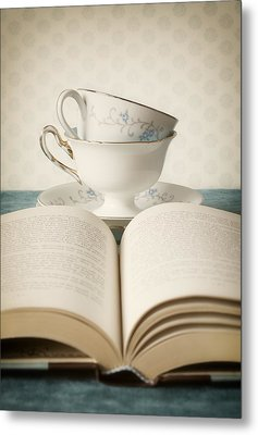 Tea For Two Metal Print by Amy Weiss