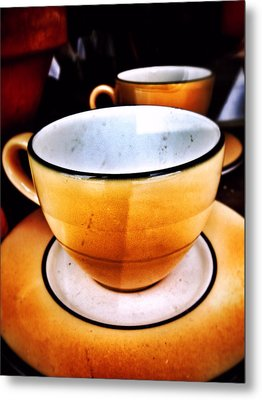 Tea For Two Metal Print by Mark David Gerson