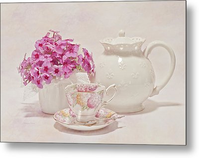 Tea For You Metal Print by Sandra Foster