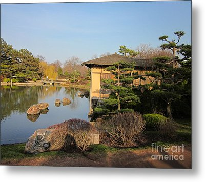 Metal Print featuring the photograph Tea House by Kathie Chicoine