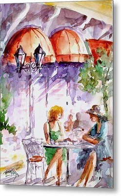 Tea Time...  Metal Print by Faruk Koksal