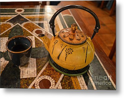 Metal Print featuring the photograph Tea Time In Asia by Robert Meanor