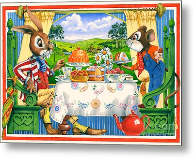 Tea Time Metal Print by Irvine Peacock
