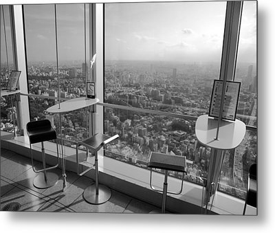Tea With A View Metal Print