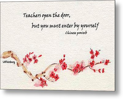 Teachers Open The Door Metal Print