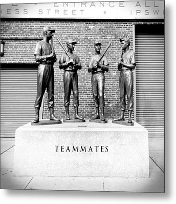 Teammates Metal Print by Greg Fortier