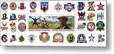 Teams Of The Negro Leagues Metal Print